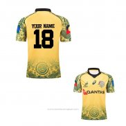 Maillot Australie Rugby 2017-2018 Commemorative Font01
