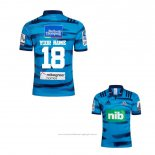 Maillot Blues Rugby 2018 Domicile Font01