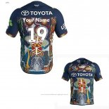 Maillot North Queensland Cowboys Rugby 2019 Indigene Font02