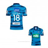 Maillot Blues Rugby 2018 Domicile Font02