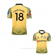 Maillot Australie Rugby 2017-2018 Commemorative Font02