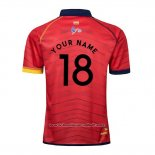 Maillot Espagne Rugby 2019-2020 Rouge Font02