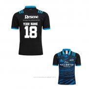 Maillot Hurricanes Rugby 2018-2019 Entrainement Font01