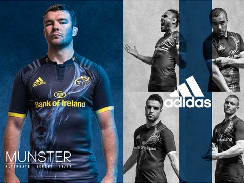 Maillot Rugby Munster Pas Cher